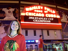 Watched the Blackhawks win the Stanley Cup