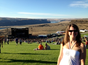 Saw Dave Matthews Band at the Gorge music venue in Washington