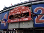 Opening Day at Wrigley Field to watch the Cubs play