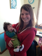 Got to meet my first nephew after having 4 nieces :)